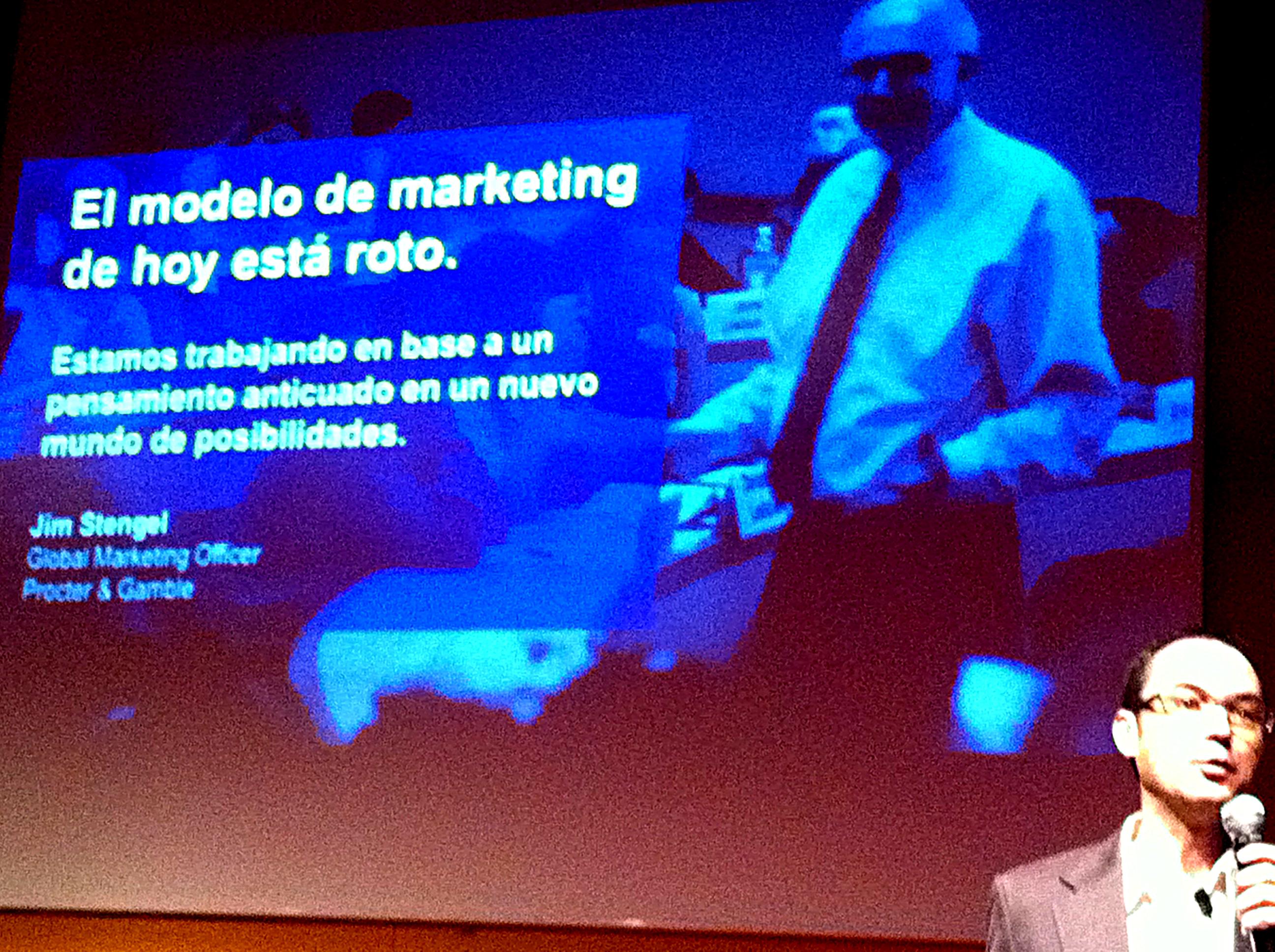 """@prosales: """"El modelo del marketing de hoy está roto"""""""
